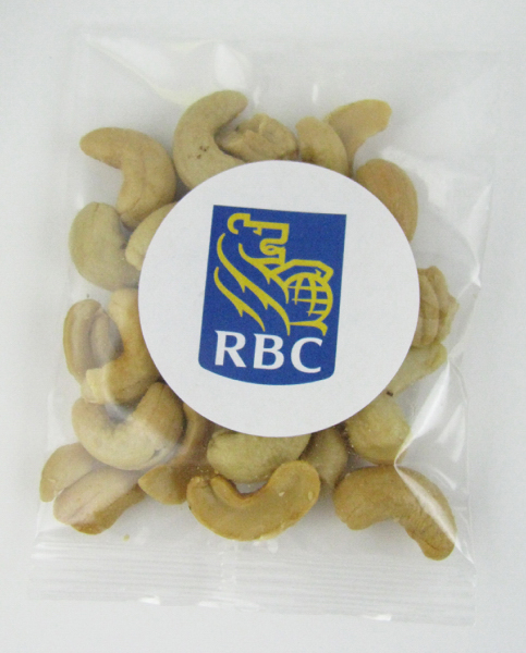 Customized Goody Bag with jumbo cashews