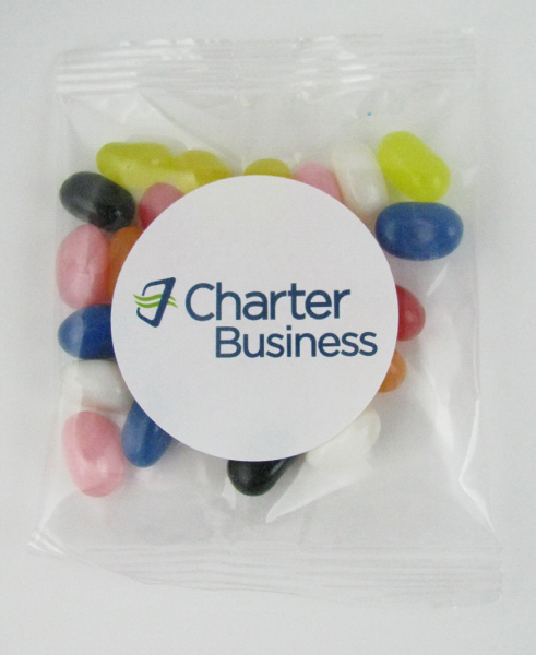 Customized Gourmet Jelly Bean Goody Bag