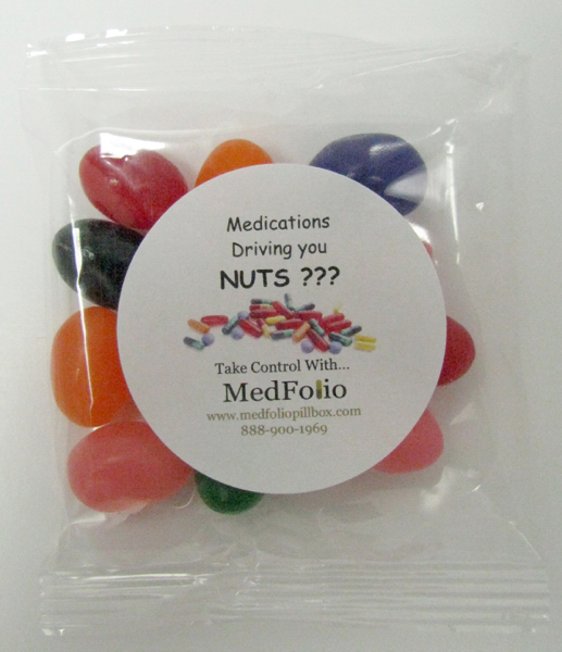 Promotional Goody Bag with Assorted Jelly Beans
