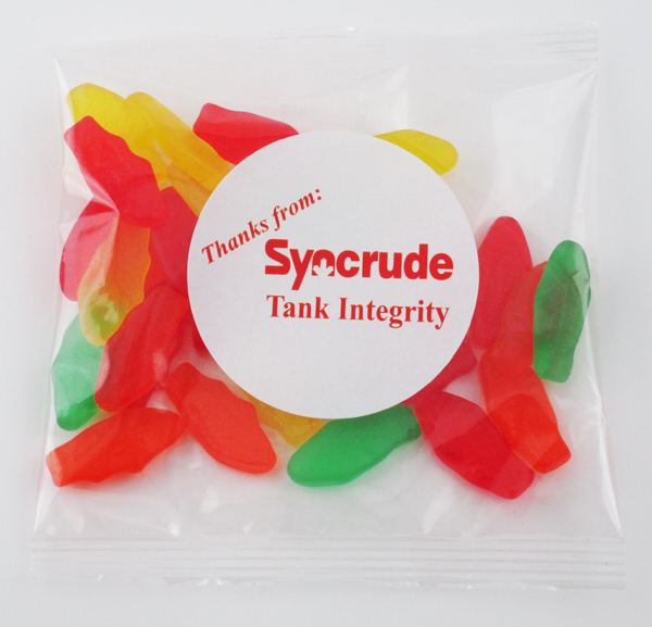 Customized Swedish Fish Candy Handful Goody Bags