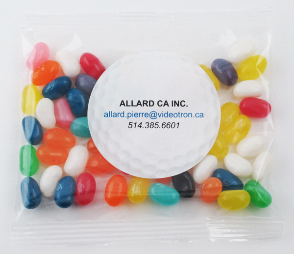 Imprinted Jelly Belly® Candy Jelly Beans Handful Goody Bags