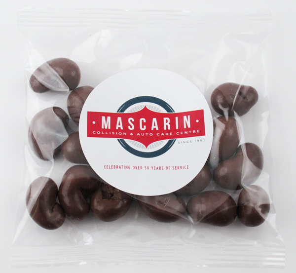 Promotional Milk Chocolate Cashews Goody Bag Handfuls