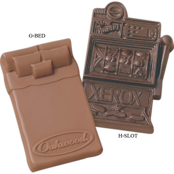 Customized Chocolate Shape - Slot machine