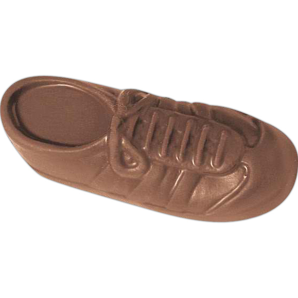 Promotional 1 oz. Custom Molded Chocolate Sneaker