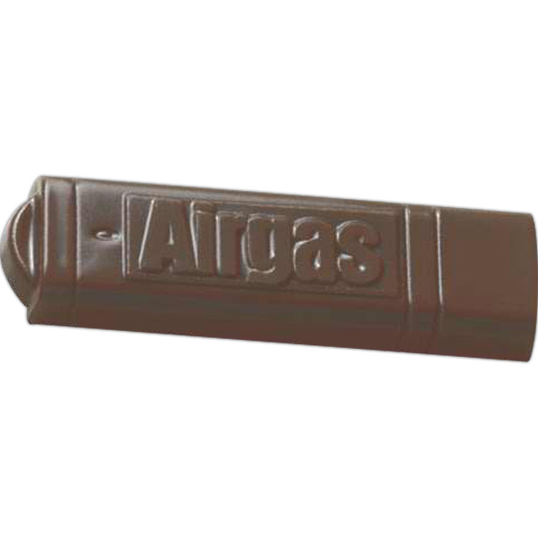Customized 1 oz. USB memory stick shape molded chocolate