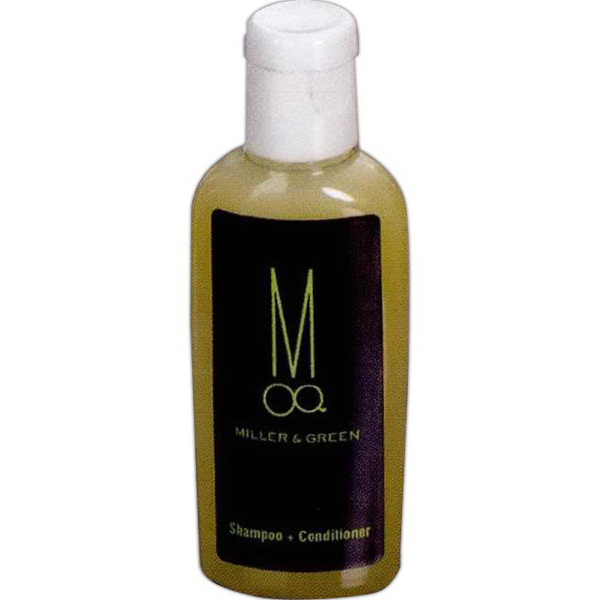 Promotional 1 oz. Shampoo + Conditioner in Oval Bottle