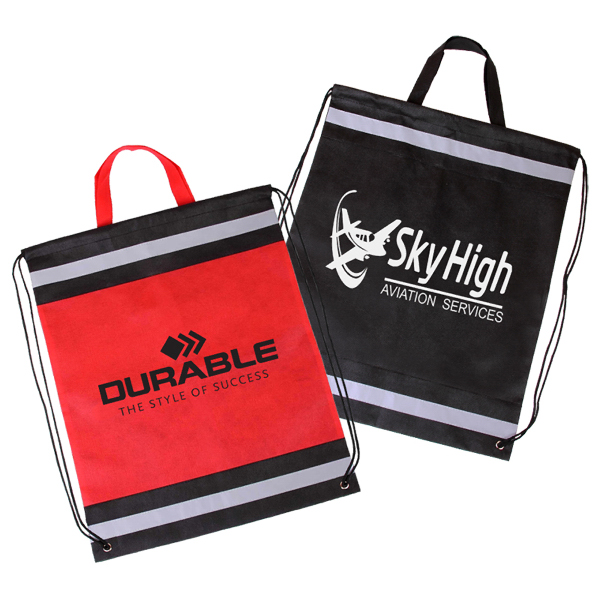 Printed Visibility Drawstring Backpack