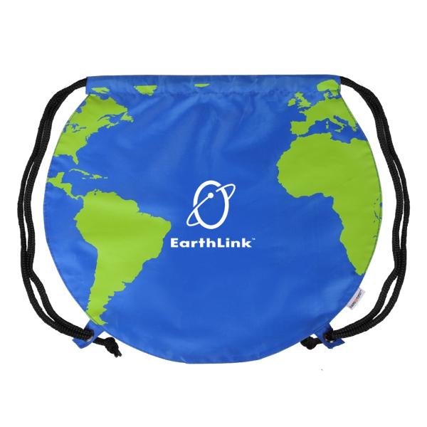 Promotional Global Drawstring Backpack