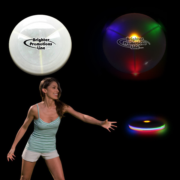 Promotional Light Up Glow Flying Disc