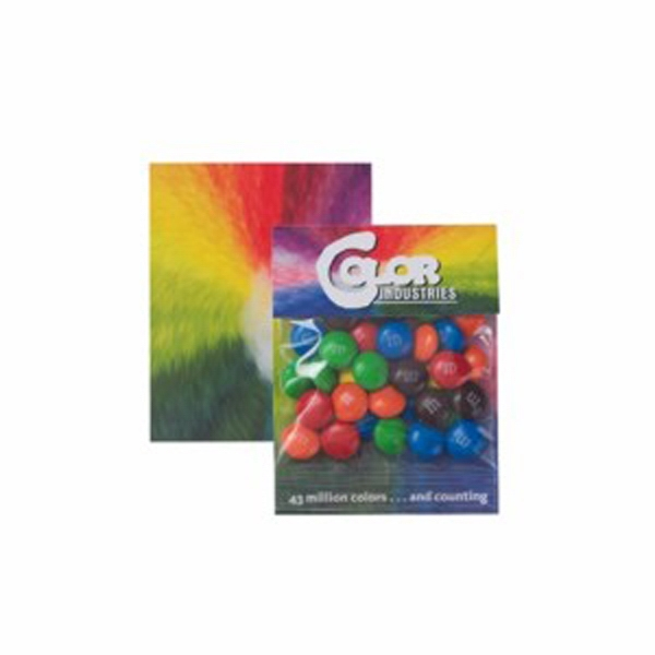 Customized Small Billboard Header Bag with Plain Candy Coated Chocolate