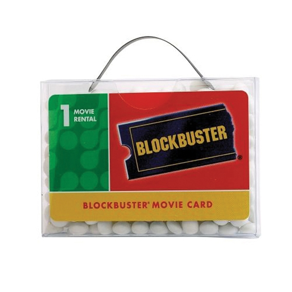 Custom Briefcase Candy Container with Business Card Slot
