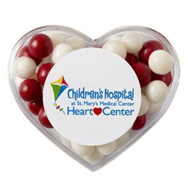 Customized Heart Container / Fresh Gems Mints