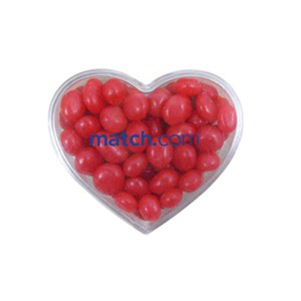 Customized Heart Container / Red Hots (R)