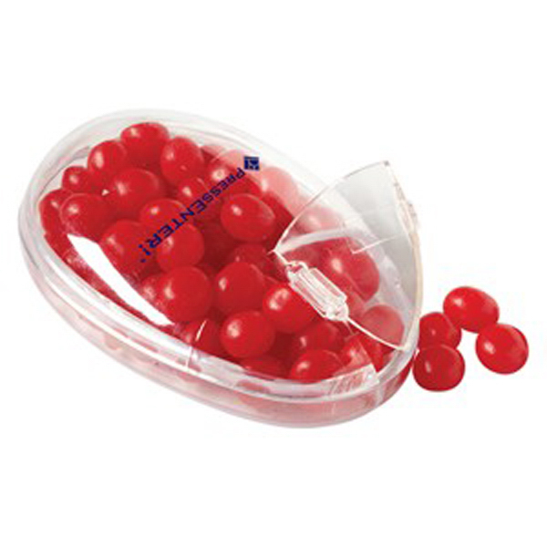 Printed Computer Mouse Container / Red Hots (R)
