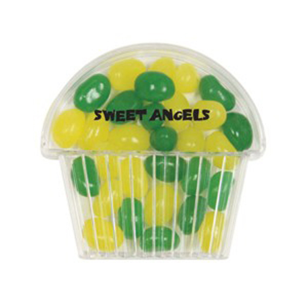 Promotional Cupcake Container / Gourmet Jelly Beans