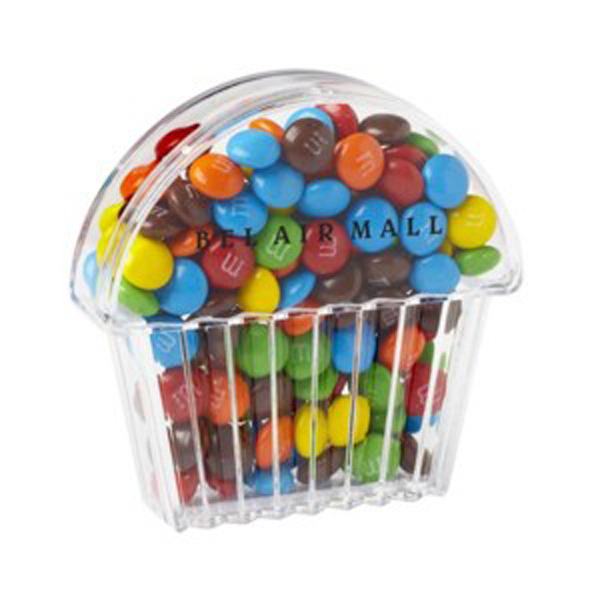 Personalized Cupcake Container / Mini M&M's (R)