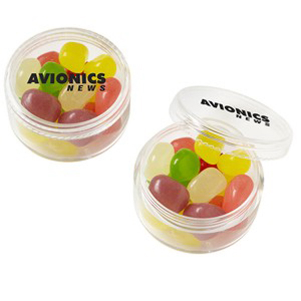 Printed Stackable Round Container / Jelly Beans Assorted