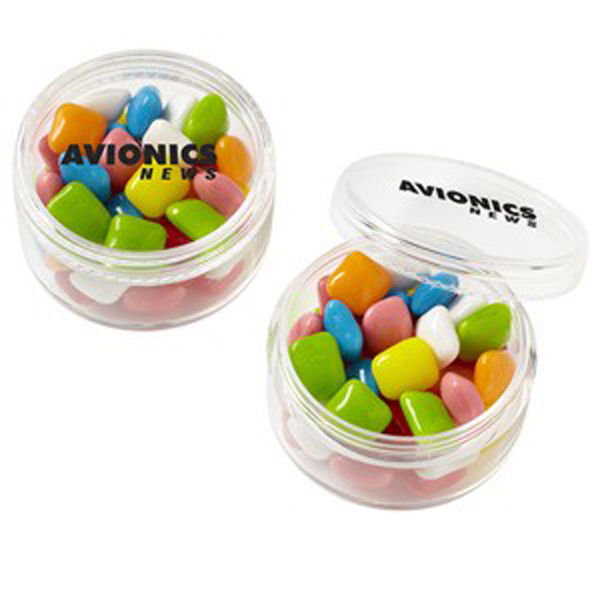 Custom Stackable Round Container / Mini Gum