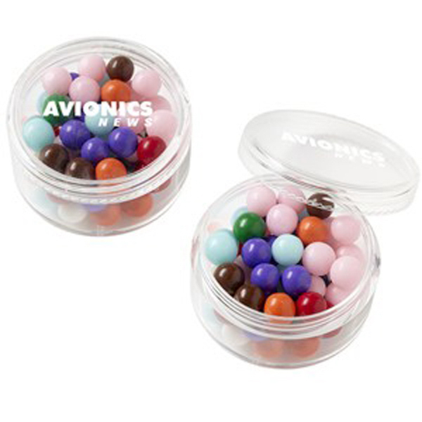 Promotional Stackable Round Container / Fresh Gems Mints