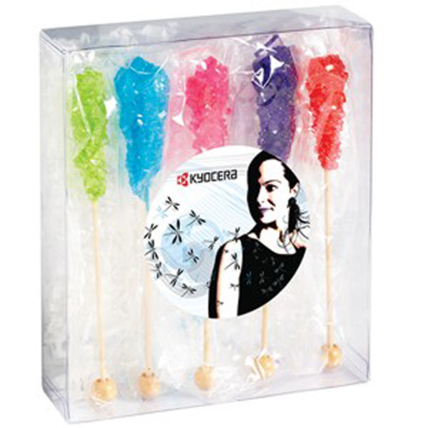 Printed Large Treat Box / Rock Candy