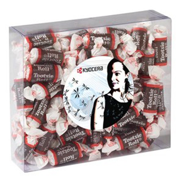 Printed Large Treat Box / Tootsie Rolls (R)