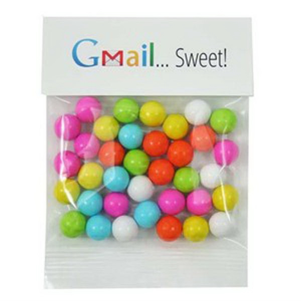 Customized 1 oz Sixlets (R) / Header Bag