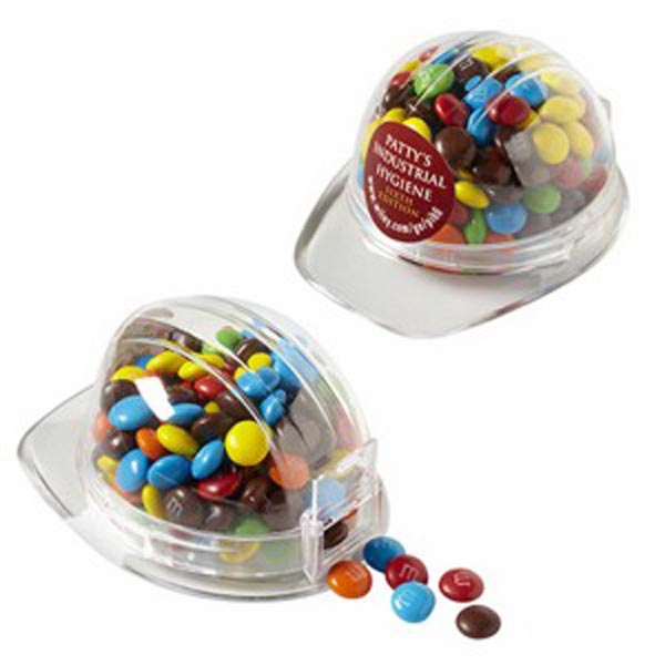 Customized Hard hat Container / Chocolate Covered Candies