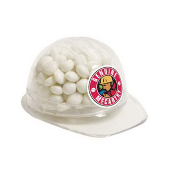 Printed Hard hat Container / White Mints