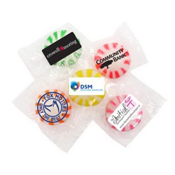 Imprinted Hard Candies Individually Wrapped