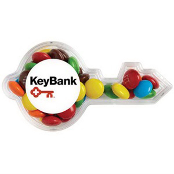 Promotional Key Container / Mini Chocolate Covered Candies