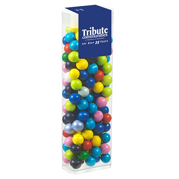 Customized Flip Top Candy Dispenser / Sixlets (R)