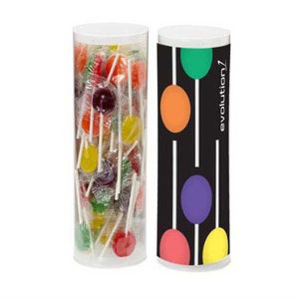Promotional Small Lollipop Tube / Approximately 50 Lollipops