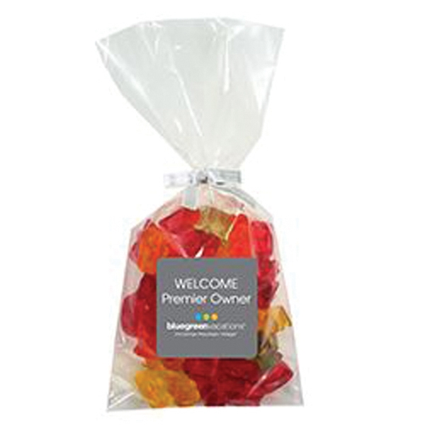 Personalized Mug Stuffer Bag / Gummy Bears (5.5 oz)