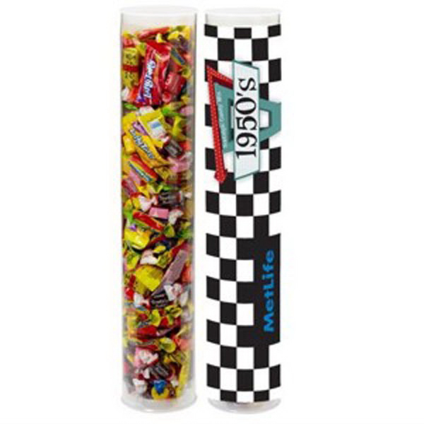 Imprinted Nostalgic Candy Tube / Large
