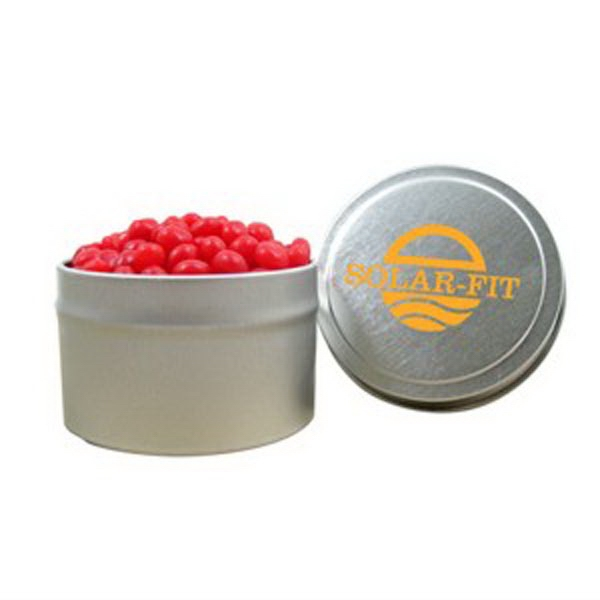 Personalized 1/8 Quart Round Tin / Red Hots (R)