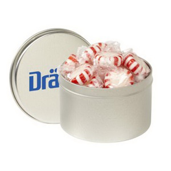 Printed 1/4 Quart Round Tin / Starlight Mints