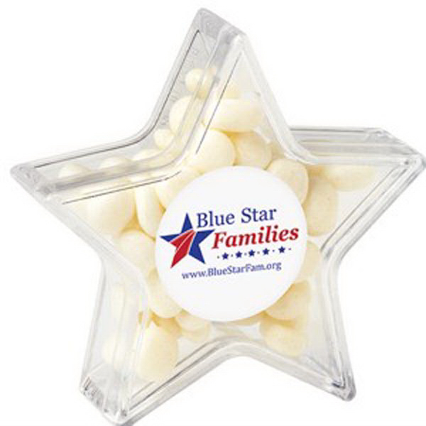 Printed Star Container / White Mints