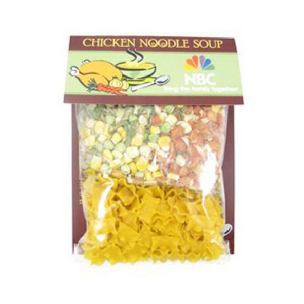 Customized Gourmet Food Header Bag / Soup Mix
