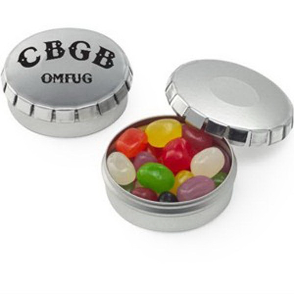 Personalized Push top Tins / Jelly Beans Assorted