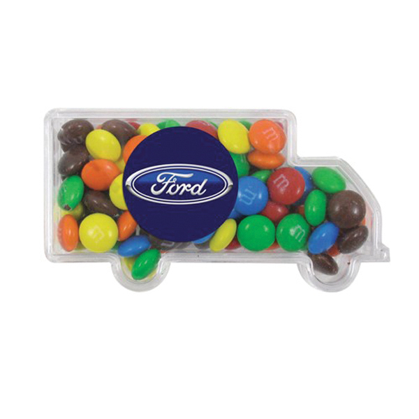 Personalized Truck Container / Chocolate Covered Candies