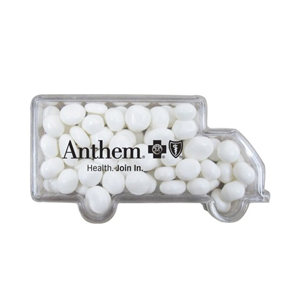Customized Truck Container / White Mints