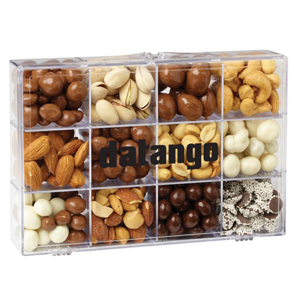 Printed 12 Way Tackle Box / Nuts & Chocolate Mix