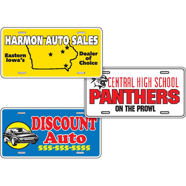 Promotional Standard License Plate