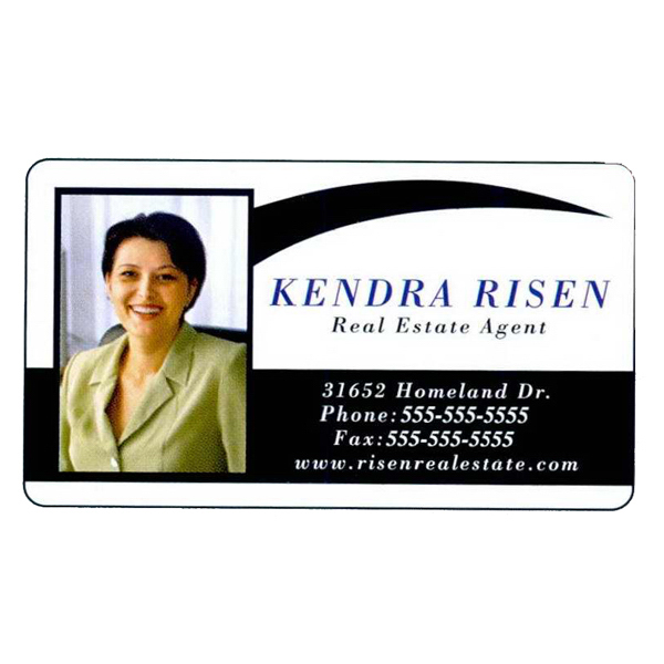 Imprinted Specialty Business Card