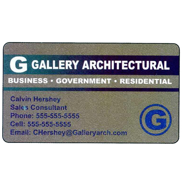 Personalized Specialty Business Card