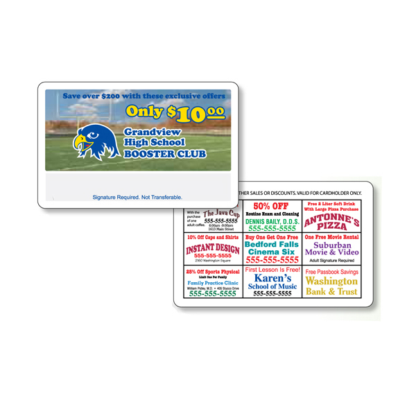 Promotional Membership Cards