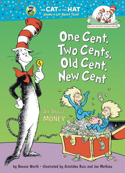 Personalized Dr. Seuss: One Cent, Two Cents, Old Cent, New Cent