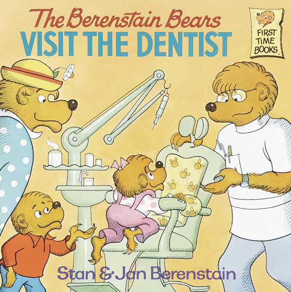 Personalized Berenstain Bears Visit the Dentist