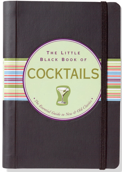 Printed Little Black Book of Cocktails