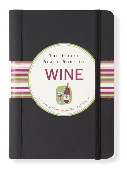Promotional Little Black Book of Wine